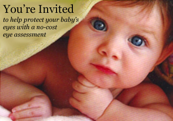 You're Invited to help protect your baby's eyes